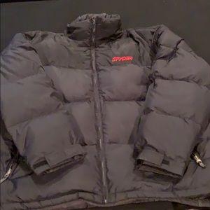 Men's Spyder jacket goose down filled